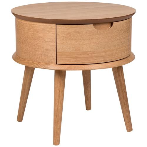temple webster olsen oak scandinavian style curved 1. Black Bedroom Furniture Sets. Home Design Ideas