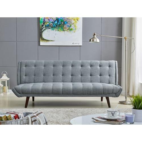 Temple & Webster Ice Grey Soho Click Clack Sofa Bed