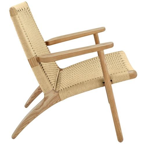 Milan Direct Hans Wegner Replica CH25 Easy Woven Chair