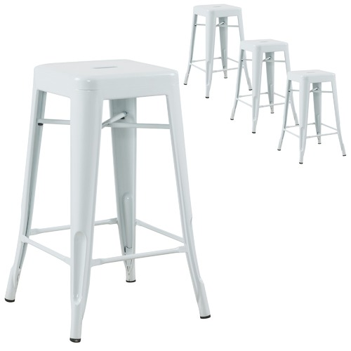 Milan Direct Tolix Replica 66cm Bar Stool