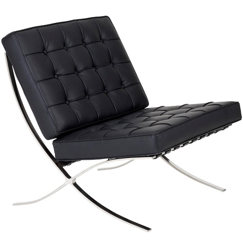 Milan Direct Barcelona Leather Chair Replica Premium