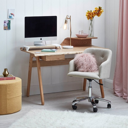 Milan Direct Ash Colette Desk
