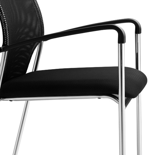Milan Direct Stackable Mesh Meeting Chairs