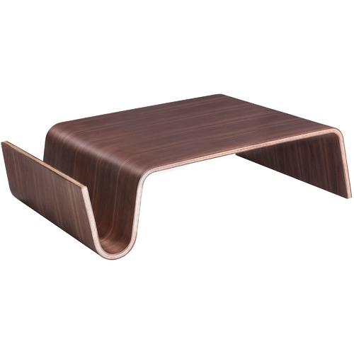 Milan Direct Walnut Eric Pfeiffer Replica Offi Scando Coffee Table
