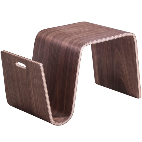 Milan Direct Walnut Eric Pfeiffer Replica Offi Scando Side Table