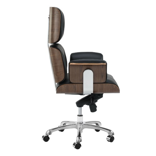 Milan Direct Eames Premium Leather Replica Executive Office Chair