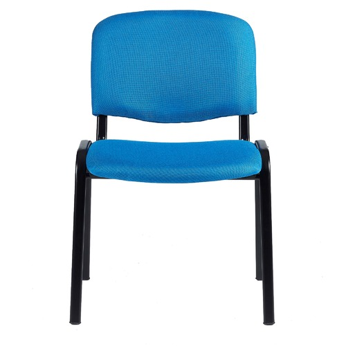 Milan Direct Blue Stackable Office Conference Chairs