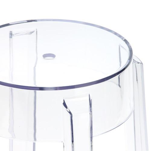Milan Direct 66cm Philippe Starck Replica Ghost Barstool