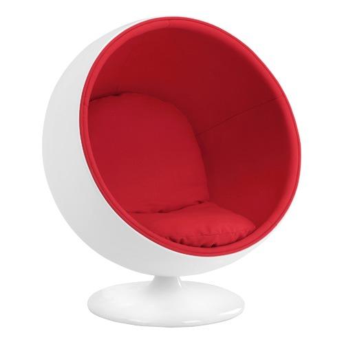 Replica Eero Aarnio Ball Chair | Temple & Webster