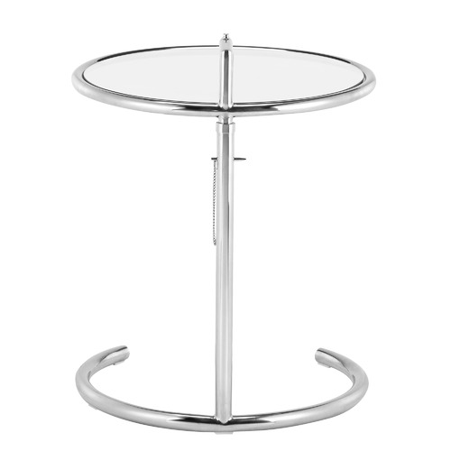 Milan Direct Eileen Gray Replica Adjustable E1027 Side Table