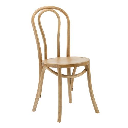 Rustic Oak Thonet Replica Bentwood Chairs