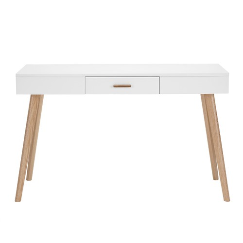 Milan Direct Vasby Desk Console 1 Drawer Scandinavian