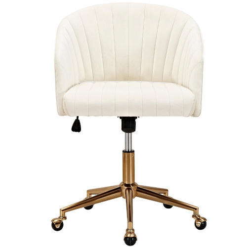 Milan Direct Gatsby Velvet Office Chair