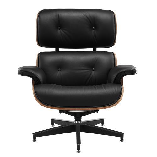 Milan Direct Eames Replica Lounge Chair & Ottoman