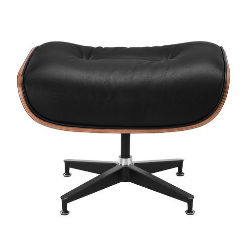 Eames Replica Lounge Stoel.Milan Direct Eames Premium Leather Replica Lounge Chair Ottoman