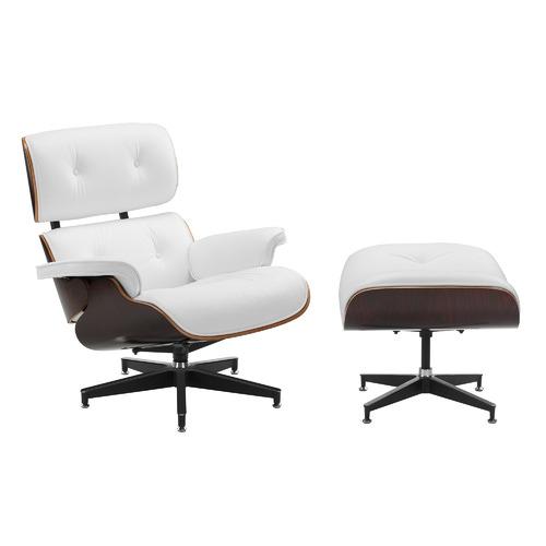 Miraculous Eames Premium Leather Replica Lounge Chair Ottoman Ibusinesslaw Wood Chair Design Ideas Ibusinesslaworg