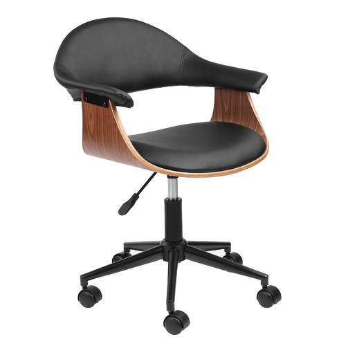 Milan Direct Jet Wooden Executive Office Chair