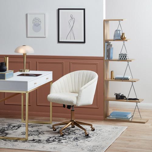Milan Direct Gatsby Velvet Office Chair