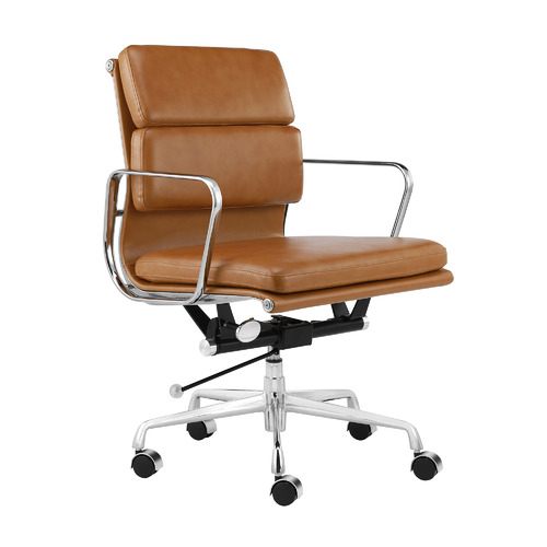 Milan Direct Eames Premium Replica Soft Pad Management Office Chair