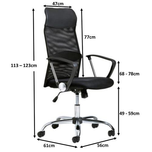 Milan Direct High Back Mesh Office Chair