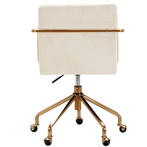 Milan Direct Camden Velvet Office Chair