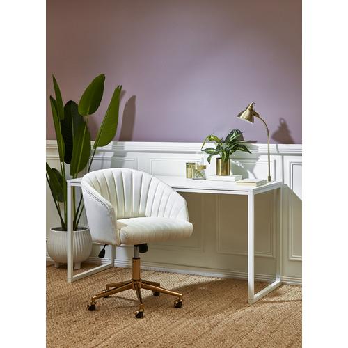 Milan Direct 140cm Carnegie Modern Office Desk