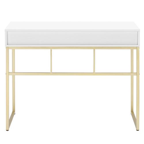 Milan Direct Monroe Gold Office Desk