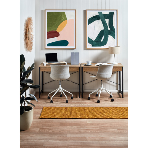 Milan Direct Darcy Fabric Home Office Chair