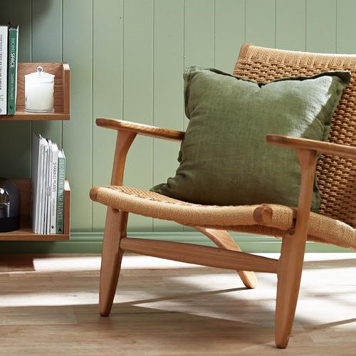 Milan Direct Hans Wegner Replica CH25 Easy Woven Chair