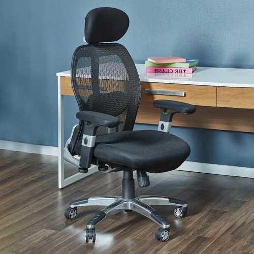 Milan Direct Deluxe Mesh Ergonomic Office Chair with Headrest