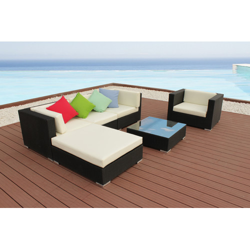 Naturally Provinicial 6 Piece Ramson Outdoor Lounge Set
