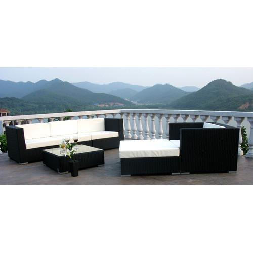 Naturally Provinicial 6 Piece Ramson Outdoor Lounge Set