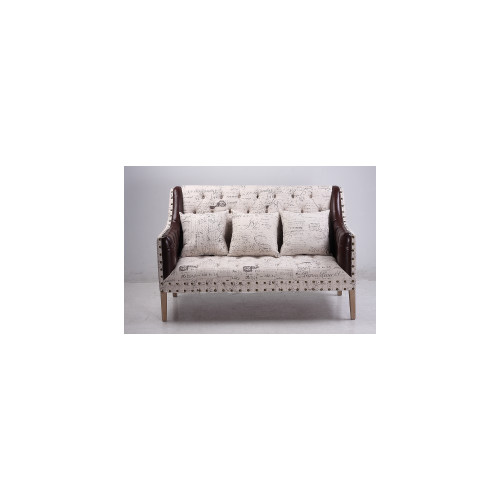 Naturally Provinicial French Country Script 2 Seater Sofa