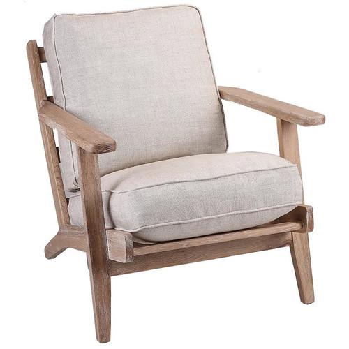 Modern Classic Linen Leisure Armchair