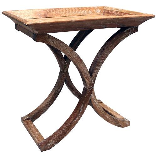 Elliott Tray Top Oak Side Table