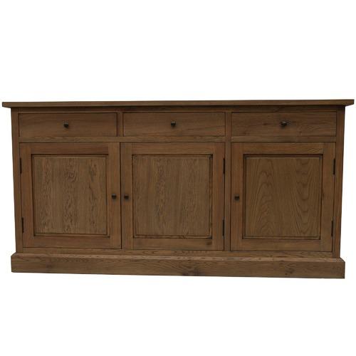 Naturally Provinicial Blake 3 Drawer Oak Sideboard