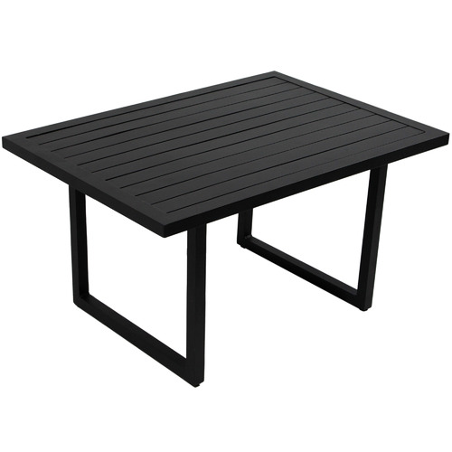 Naturally Provinicial Black Randgris Outdoor Aluminium Coffee Table