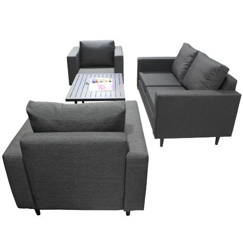 Naturally Provinicial Randgris 4 Seater Outdoor Sofa Set