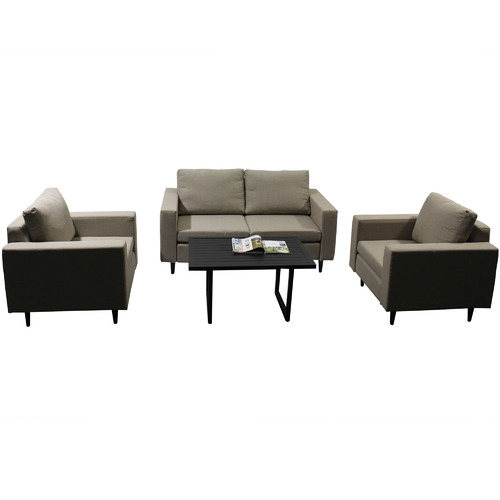 Naturally Provinicial Randgris 4 Seater Outdoor Sofa Set