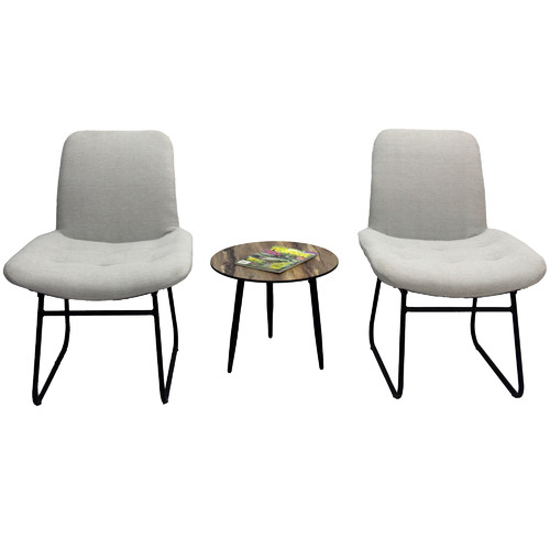 Naturally Provinicial Light Grey Dakota Outdoor Dining Chairs