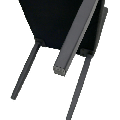 Naturally Provinicial Black Sindri Outdoor Dining Chairs