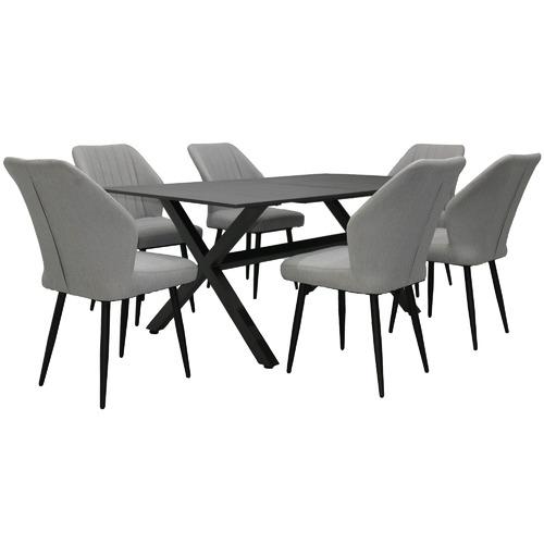 Black Atlas Outdoor Dining Table