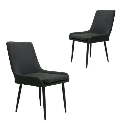 Naturally Provinicial Dark Grey Sophie Outdoor Dining Chairs