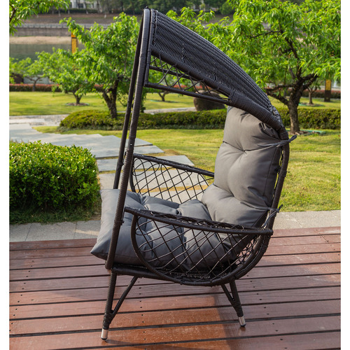 Naturally Provinicial Bernice Standing Outdoor Basket Chair