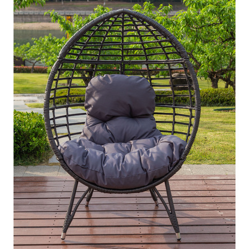 Charcoal Bourne Standing Basket Chair