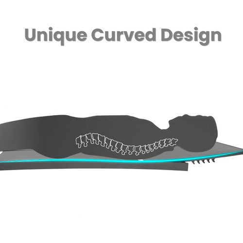 Naturally Provinicial Casella Aluminium & Textilene Adjustable Curved Sun Lounges