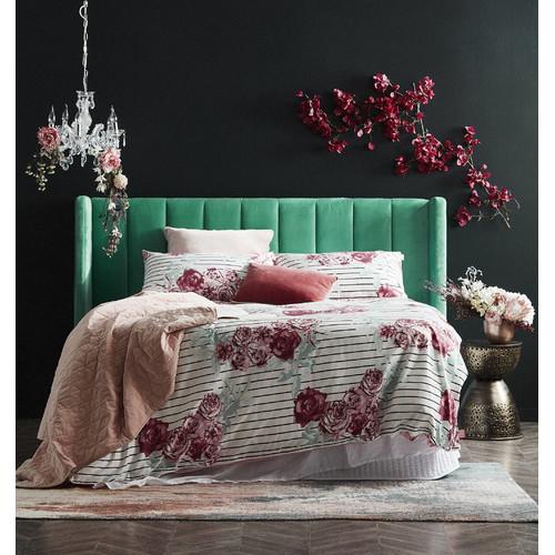 Linen House Blush Kew Throw