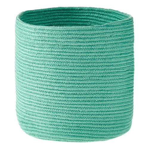 Linen House Belize Turquoise Storage Basket
