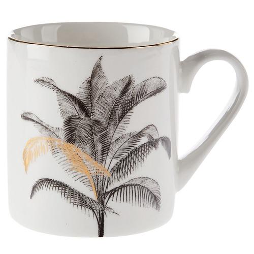 Linen House Chimera Palm Porcelain Mug