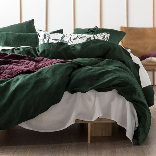 Linen House Ivy Nimes Linen Quilt Cover Set